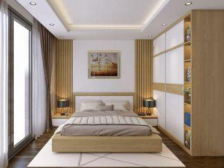 bộ nội thất phòng ngủ gỗ công nghiệp hiện đại đẹp giá rẻ cho chung cư, nhà ống ở tphcm