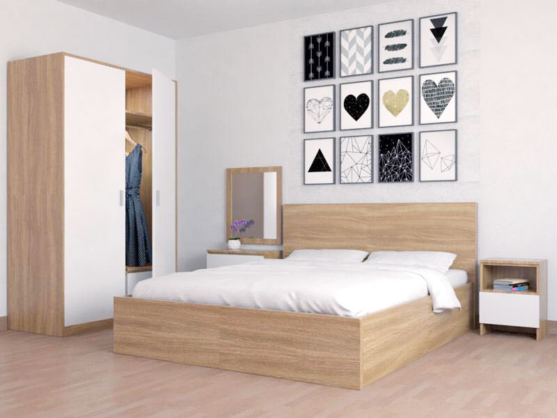 combo trjn bộ nội thất phòng ngủ đẹp giá rẻ tphcm