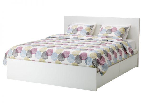 giường ngủ màu trắng gỗ công nghiệp đẹp giá rẻ tphcm