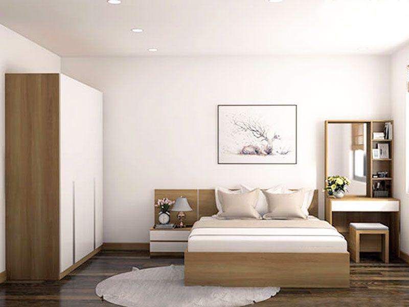 trọn bộ phòng ngủ chung cư hiện đại đẹp giá rẻ tphcm