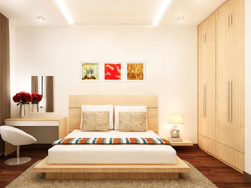 combo trọn bộ nội thất phòng ngủ kiểu nhật đẹp giá rẻ tphcm