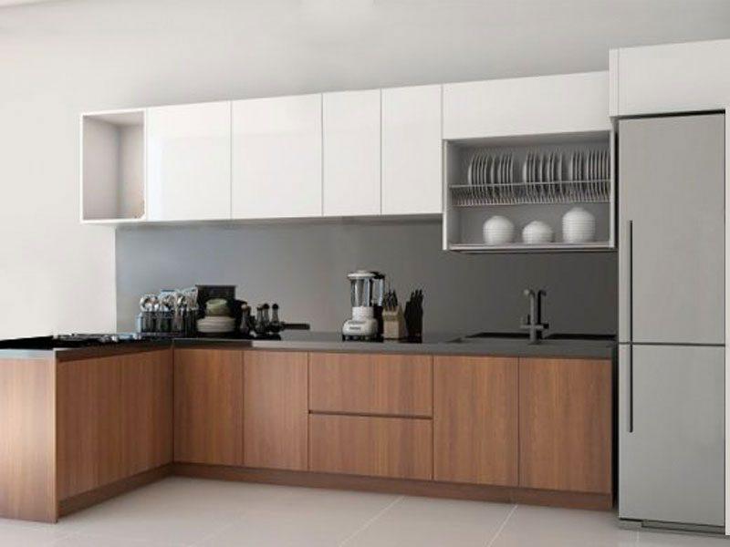 tủ bếp hiện đại đẹp giá rẻ tphcm