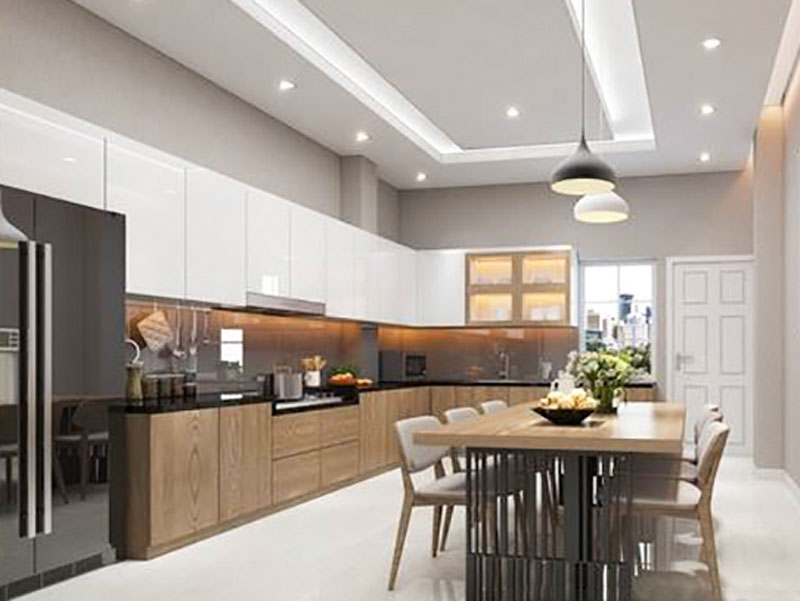 tủ bếp đẹp hiện đại giá rẻ cho chung cư nhà phố tphcm