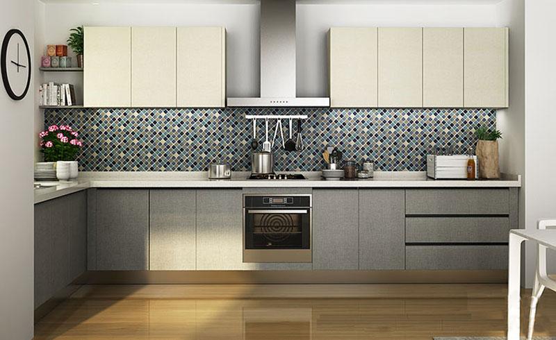 tủ bếp nhưa, tủ bếp hiện đại