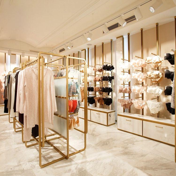 thiết kế nội thất shop thời trang quần áo