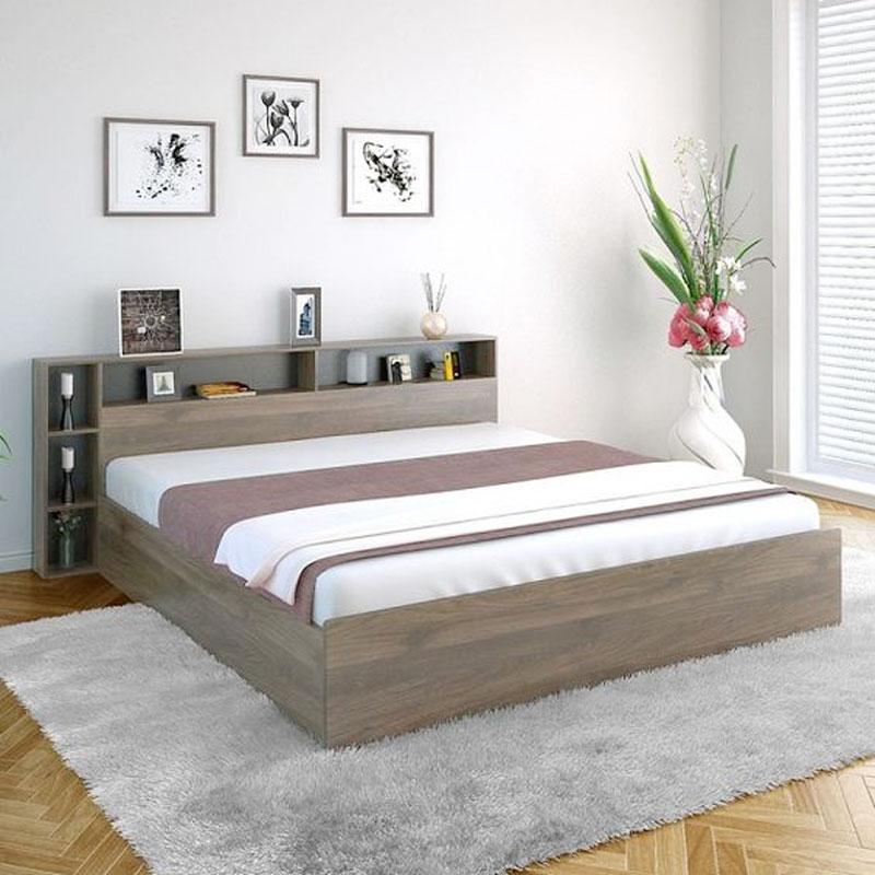giường ngủ gỗ công nghiệp đóng sẵn đẹp giá rẻ tphcm